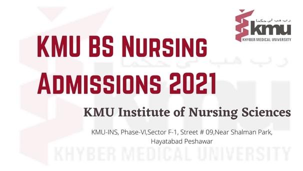 KMU BS Nursing Admissions 2021