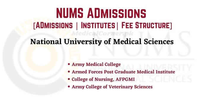 NUMS Admissions 2021