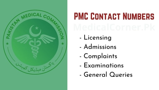 PMC Contact Numbers