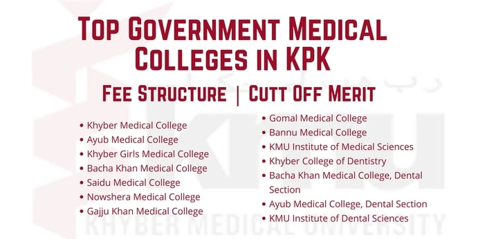 Top Government Medical Colleges in KPK